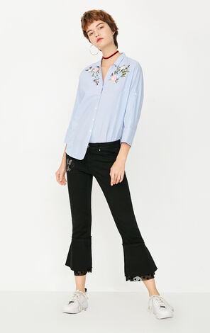 REPEAT FLOWER VINCENT  SHIRT(LOVE)