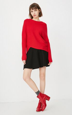 ONLY 2019 Women's Loose Fit Knit Pullover |118113502
