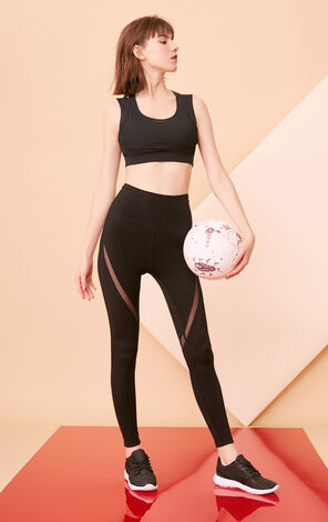 ONLY PLAY Mesh Cut-outs Sports Bra |1181BT501