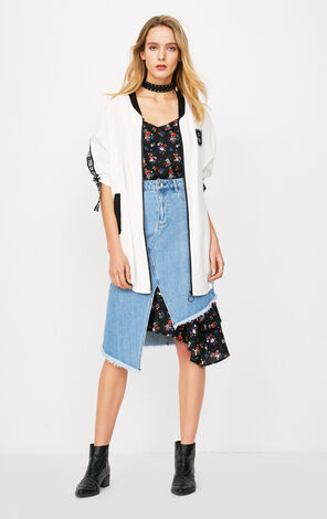 ONLY Women's Summer Loose Fit Printed Wind Coat |118136561