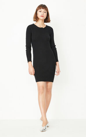 ONLY Autumn new style slim knitted dress female | 117346505