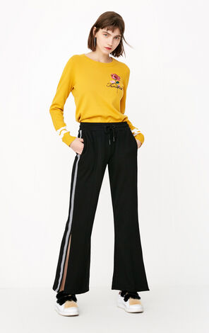 ONLY 2018 summer women's  new elastic waist sporty cropped casual pants   11811D501