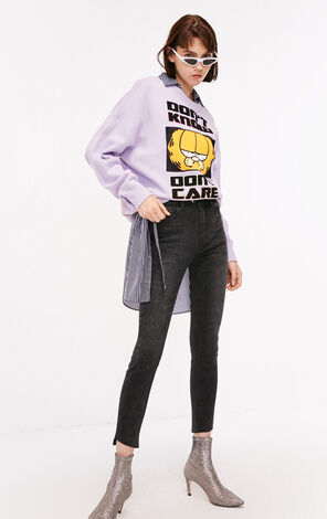 ONLY jeans were thin and brushed nine-point pants tight-fitting little feet women   118449506