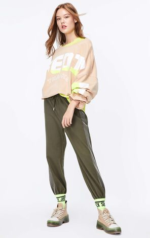 ONLY 2019 AutumnWomen's Loose Fit Printed Long-sleeved T-shirt|119302502