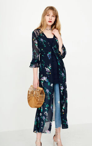 ONLY 2018 Summer Lace Floral Two-piece Dress |118107594