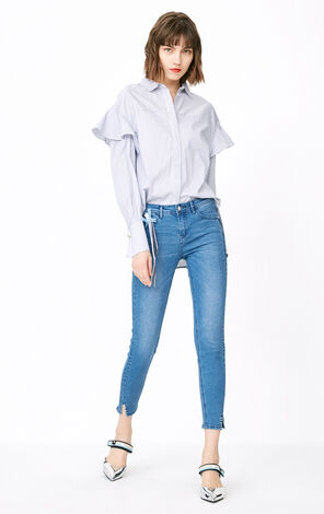 ONLY Winter Women's Low-rise Tight-leg Jeans|118149638