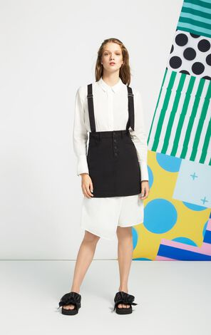 ONLY2019New Detachable Shoulder Straps A-lined Skirt|117116506
