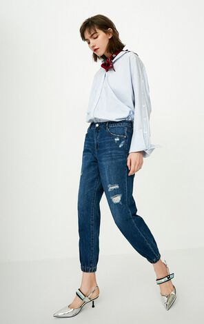 ONLY Winter Women's BF Style Crop Jeans|118149667
