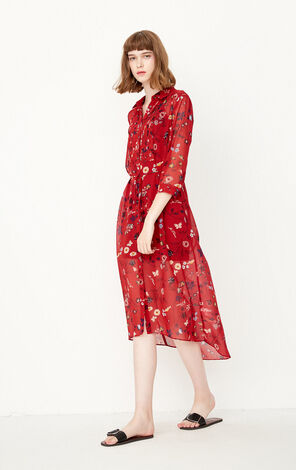 REPEAT3 TONYA SHIRT DRESS(ESSENTIALS)