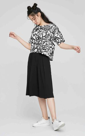 ONLY Summer New Women's Loose Fit Wide-leg Pants 117219501