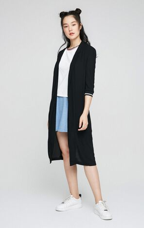 ONLY Spring Women's Loose Fit 3/4 Sleeves Cardigan Blazer|117208504