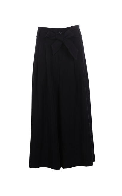 ONLY 2018 Women's Summer High-rise Wide-leg Loose Fit Casual Pants |11816J522, Black, large