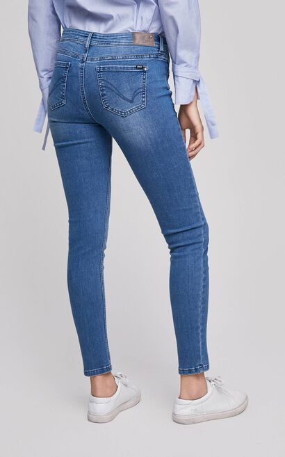 ONLY Women's Spring Low-rise Slim Fit Tight-leg Jeans |117132524, Light blue, large