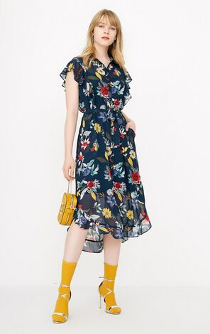 REPEAT TOYA SHIRT DRESS(LOVE)