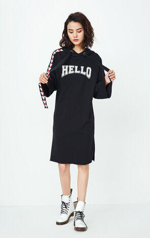 ONLY Summer Disney cooperation style hooded dress female|117461501