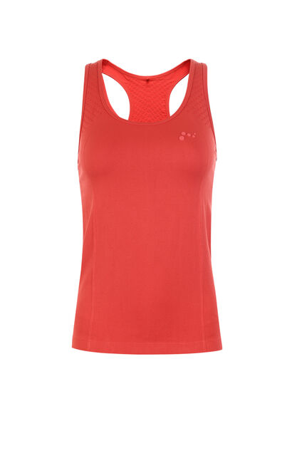 Only  PLAY Sports Series Women's Skinny Singlet |118103503, Red, large