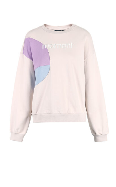 ONLY2019 women's winter new girl cute loose hooded sweater |11919S552, Purple, large