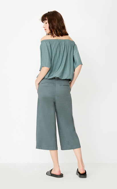 REPEAT DOLPHIN PANT (LOVE), Green, large