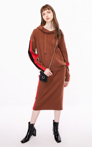 ONLY two-piece casual knitted dress female | 118346514