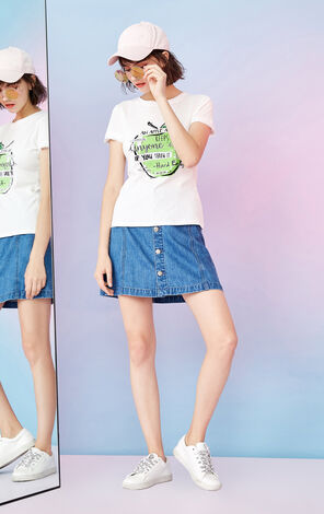 EC REPEAT FRUIT JERSEY TOP(TRUE)