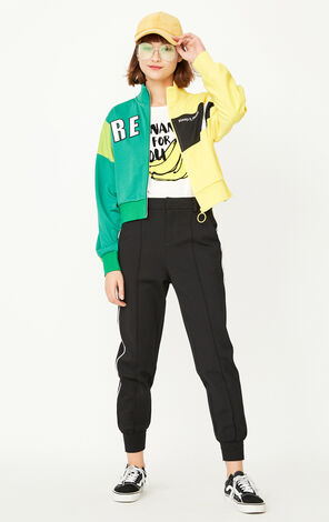 ONLY Women's Autumn Contrasting Short Sports Jacket |11739R510