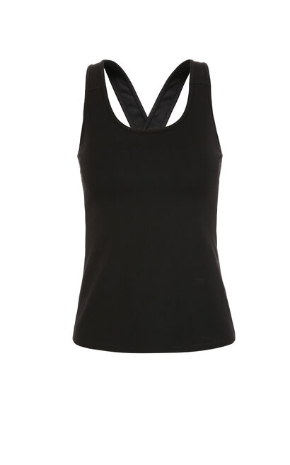 ONLY Women's PLAY Series Cross-over Vest|117403501, Black, large