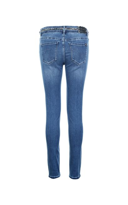 ONLY Autumn Women's Thin Skinny Low-rise Tight-leg Jeans|118332506, Blue, large