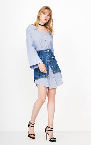 ONLY Two-piece Shirt Dress  118142521