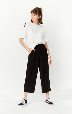 ONLY Summer Women's Loose Fit Wide-leg Casual Pants |11716J508