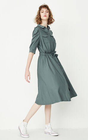 REPEAT3 GIN CASUAL DRESS(TRUE)