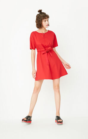 REPEAT4 CLARICE A-LINE DRESS(ESSENTIALS)