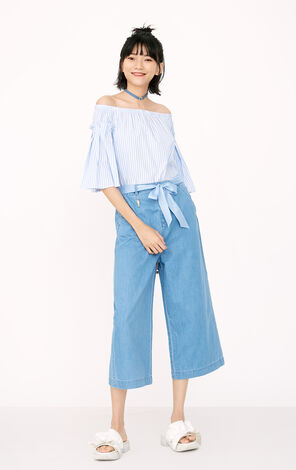 ONLY Women's Summer High-rise Straight Fit Loose Fit Jeans |11736I520
