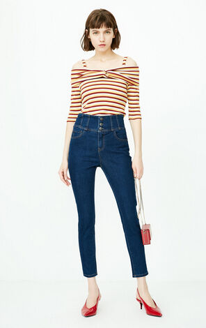 ONLY 2019 Women's High-rise Jeans |118332502