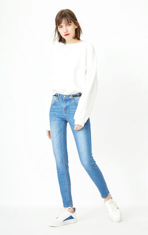 ONLY 2019 Women's Autumn Skinny Jeans |118132561