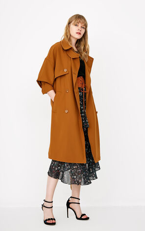 ONLY Women's Summer Medium Length Wind Coat |118136542