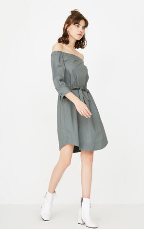 REPEAT KARMA SHIRT DRESS(LOVE)