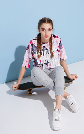 ONLY Spring New PLAY Women's Loose Fit Printed T-shirt |117101512